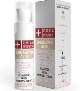 Double-action eye gel